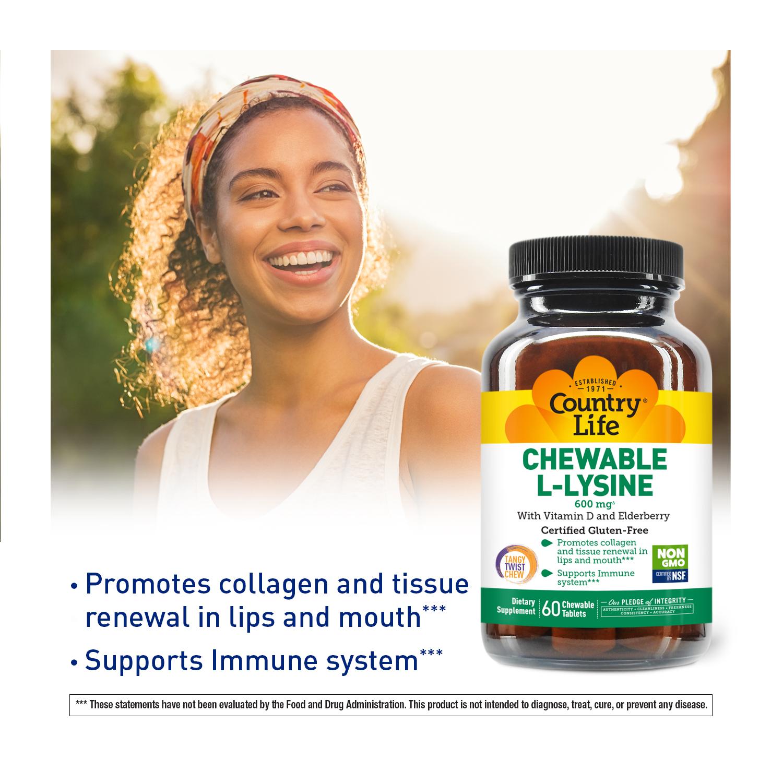Chewable L-Lysine