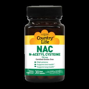 NAC 750 mg N-Acetyl Cysteine