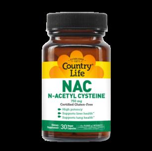 NAC, N-Acetyl Cysteine 750 mg