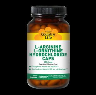 L-Arginine + L-Ornithine 1000 mg