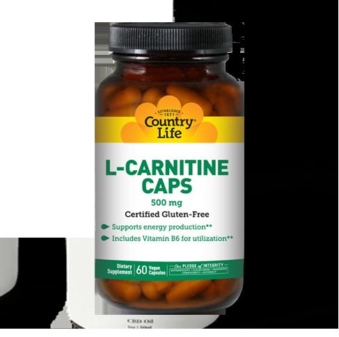 L-Carnitine Caps 500 mg