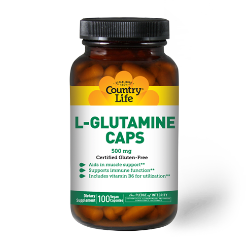 L-Glutamine Caps 500 mg