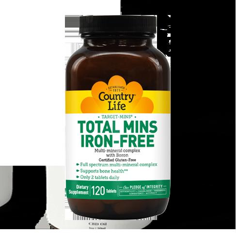 Target-Mins® Total Mins Iron-Free