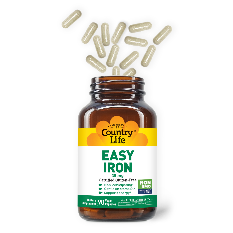 Easy Iron 25 mg Capsules