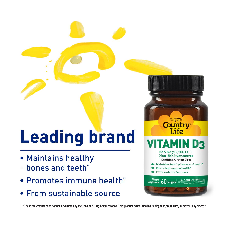 Vitamin D3 2,500 I.U.