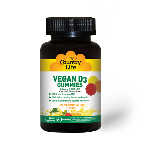 Vegan D3 Gummies
