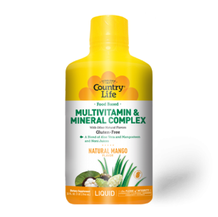Food Based Liquid Multivitamin and Mineral Complex