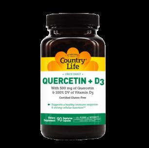 Quercetin + D3