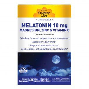 Melatonin 10mg – with Magnesium, Zinc and Vitamin C